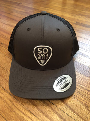 So Nashville Logo Hat Snapback Charcoal - So Nashville