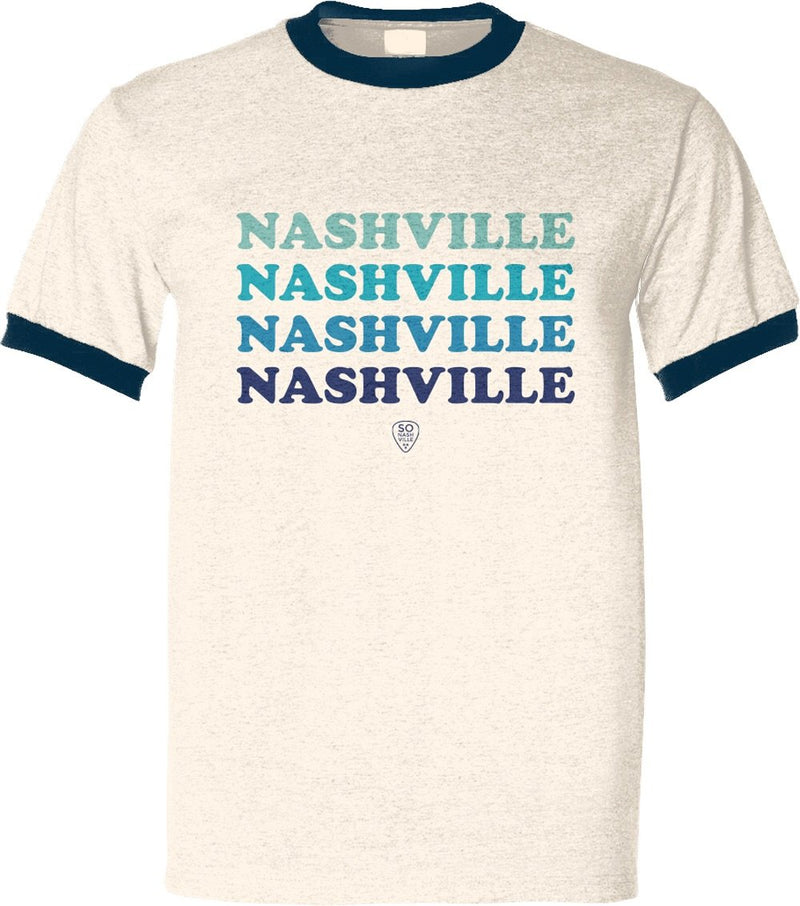 Retro Nashville Blues - So Nashville Clothing