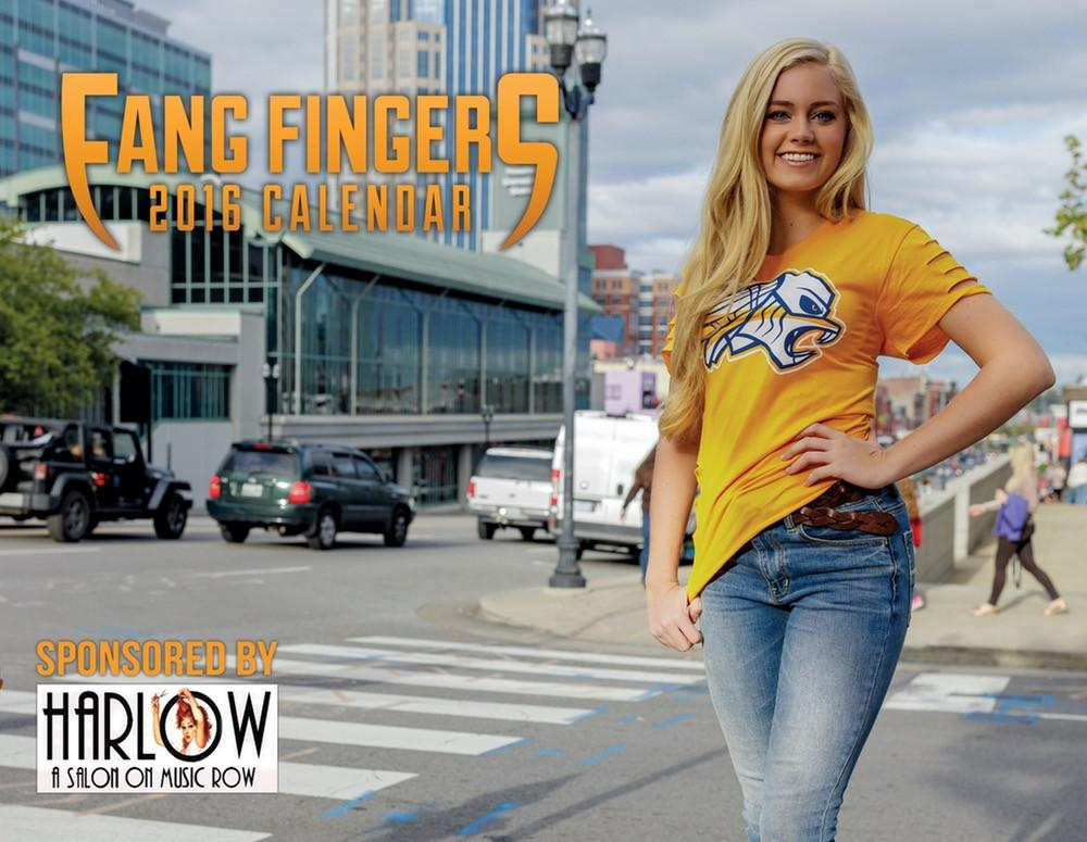 Fang Fingers 2016 Calendar - So Nashville