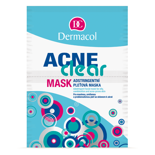 Dermacol Acneclear Cleansing Face Mask 2 x 8 g