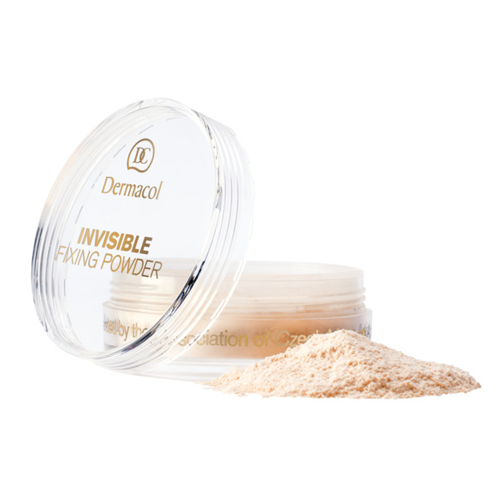 Dermacol Invisible Fixing Powder 13 g Natural