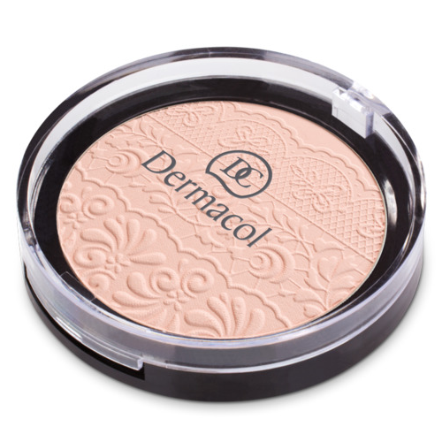 Dermacol Compact Powder With Lace Relief 8 g (No. 1)