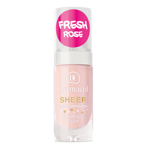 Dermacol Sheer Face Illuminator 15 ml Fresh Rose