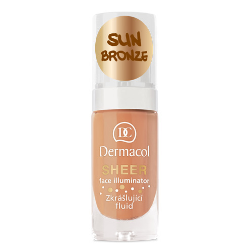 Dermacol Sheer Face Illuminator 15 ml Sun Bronze