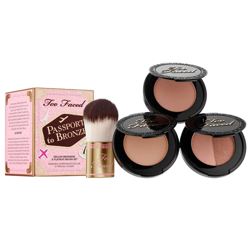 Too Faced Passport to Bronze Set