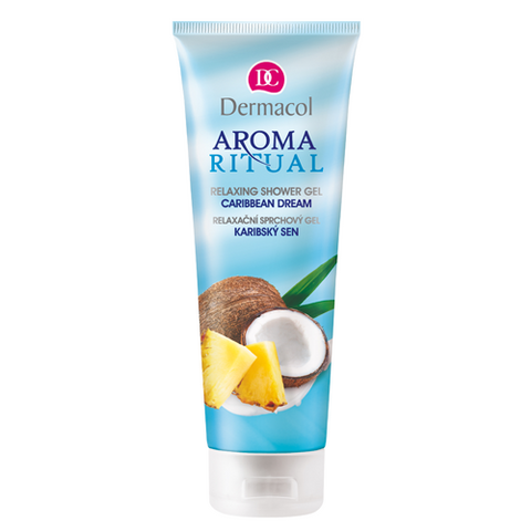 Dermacol Aroma Ritual Relaxing Shower Gel - Caribbean Dream 250 ml