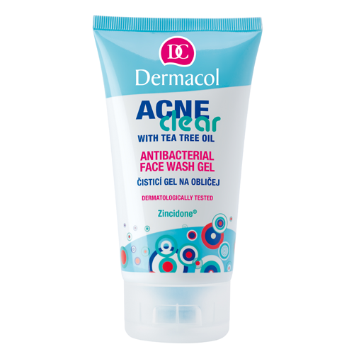 Dermacol Acneclear Antibacterial Face Wash Gel 150 ml