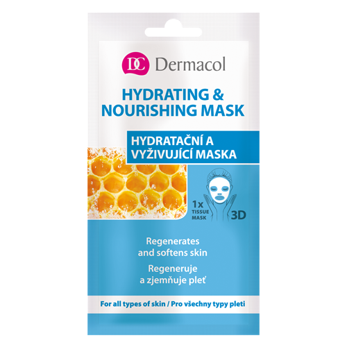 Dermacol 3D Hydrating & Nourishing Mask