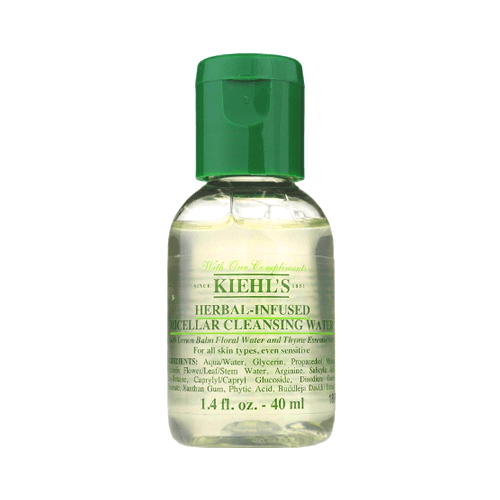 Kiehl's Herbal-Infused Micellar Cleansing Water 40 ml