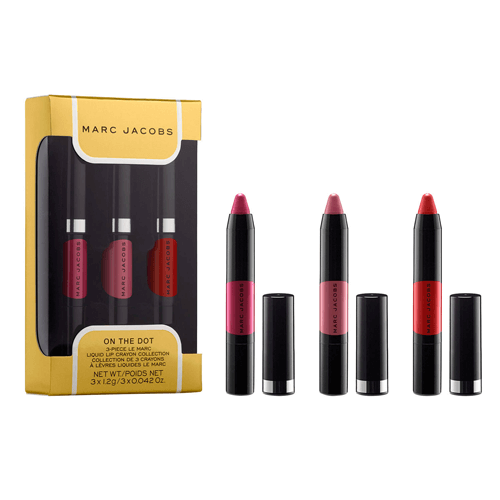 Marc Jacobs On The Dot 3-Piece Le Marc Liquid Lip Crayon Collection