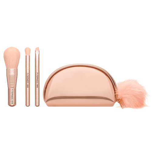 MAC Snow Ball Brush Kit with Mini Brush Bag
