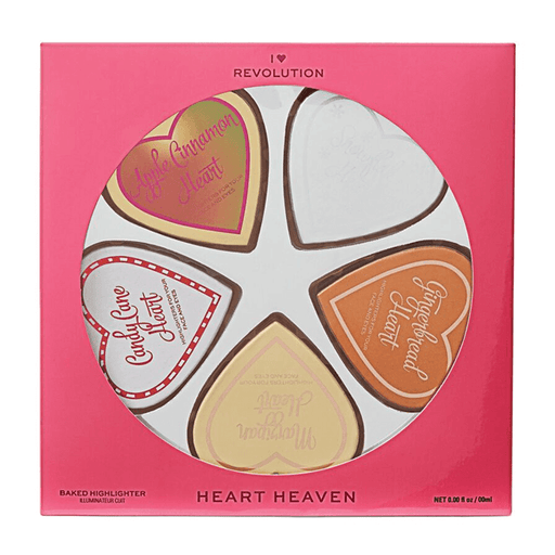 I Heart Revolution Heart Heaven Baked Highlighter Set