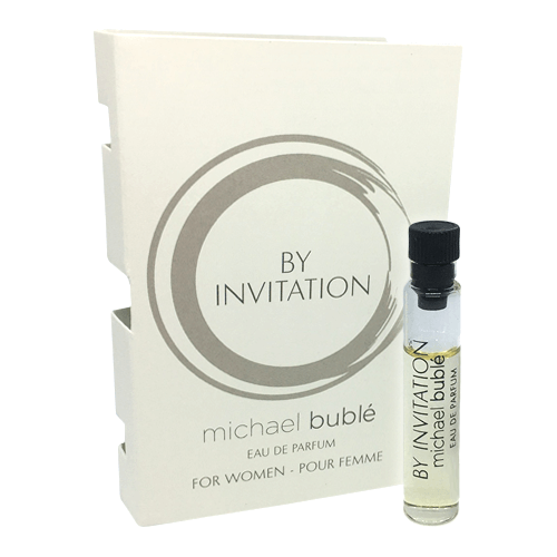 Michael Buble By Invitation 1.5 ml Eau de Parfum Sample