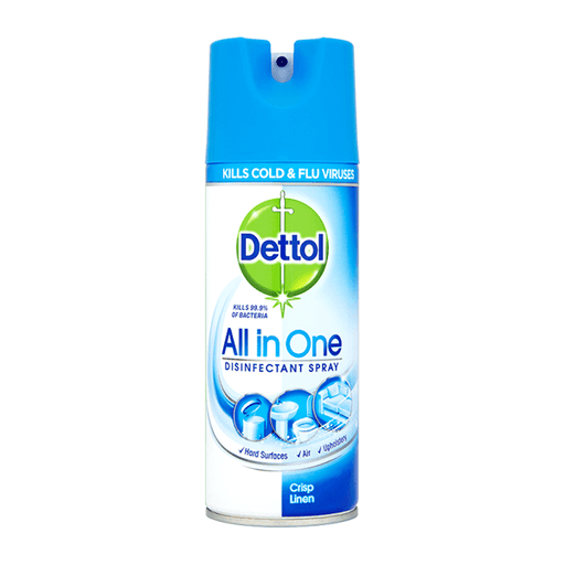Dettol All in One Disinfectant Spray 400 ml Crisp Linen