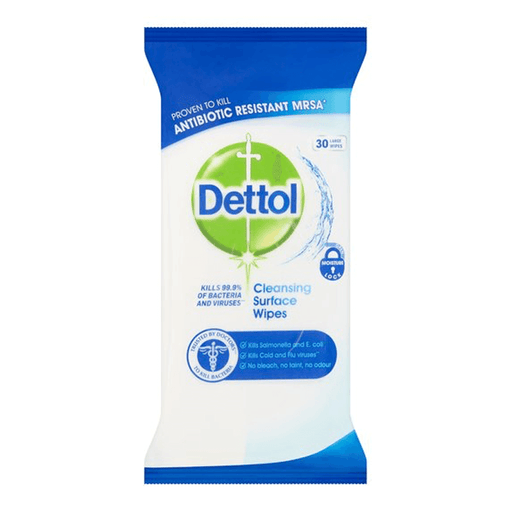 Dettol Cleansing Surface Wipes 30's