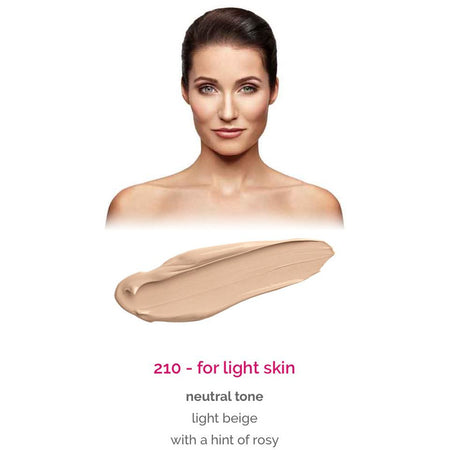 Dermacol Make-Up Cover - shade 210 for light skin - neutral tone