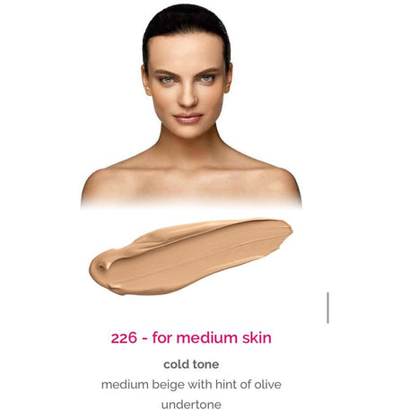 Dermacol Make-Up Cover - shade 226 for medium skin - cold tone