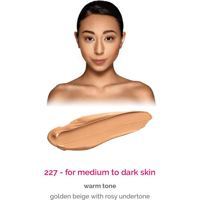 Dermacol Make-Up Cover - shade 227 for medium to dark skin - warm tone
