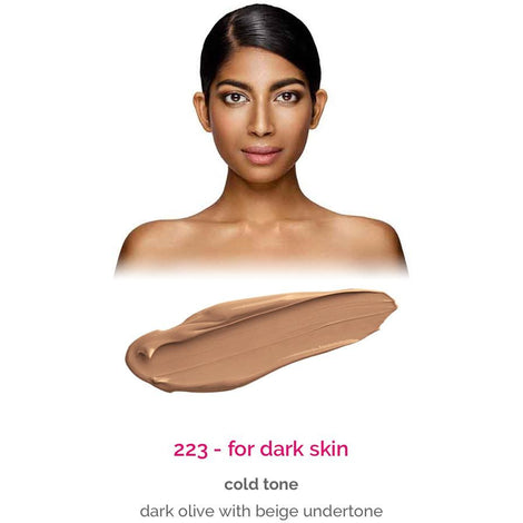 Dermacol Make-Up Cover - shade 223 for dark skin - cold tone