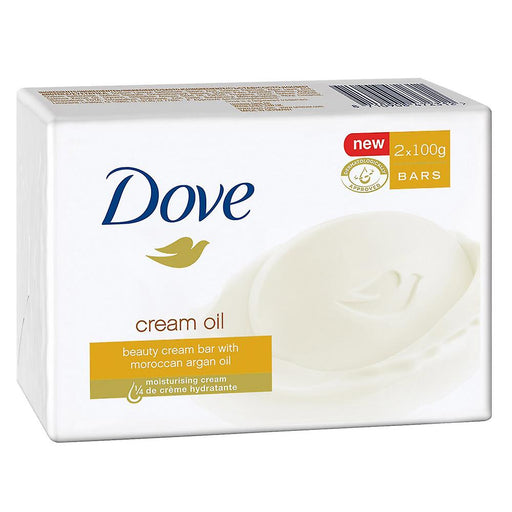 Dove Cream Oil Beauty Cream Bar 2 x 100 g