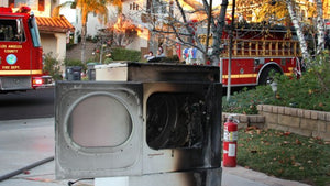 Laundry Fires Part1: Dryer Fires
