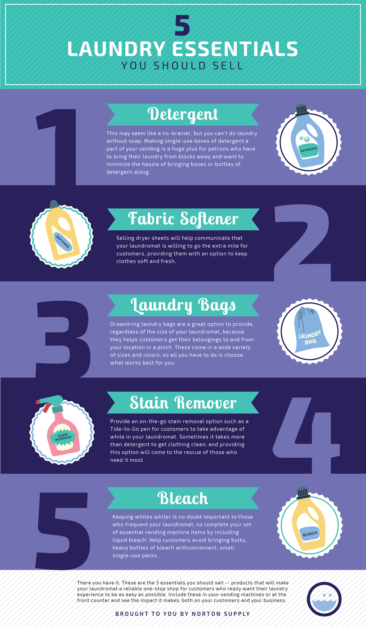 Free Infographic - 5 Laundry Essentials You Should Sell