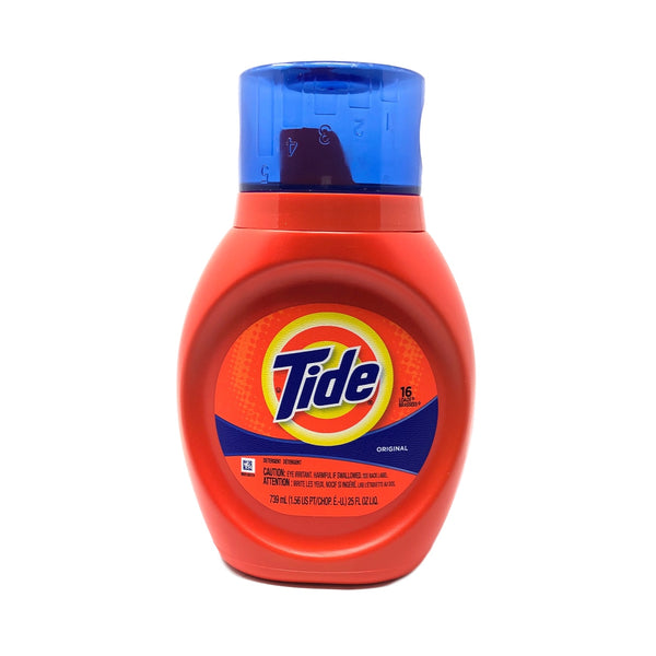 Tide Liquid 2X - 6/25 oz.-Norton Supply