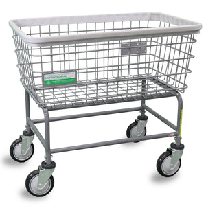 Antimicrobial Large Capacity Laundry Cart-Norton Supply