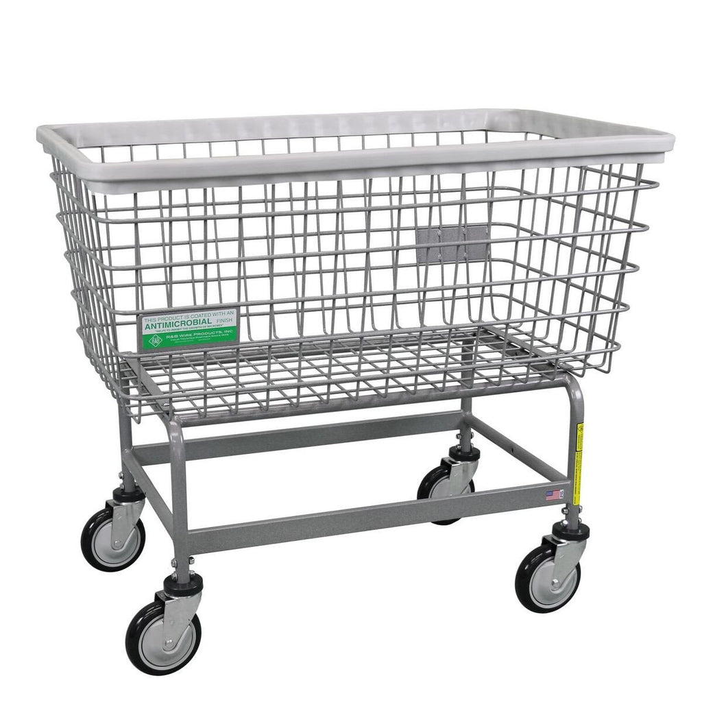 Antimicrobial Mega Capacity Laundry Cart (Big Dog)-Norton Supply