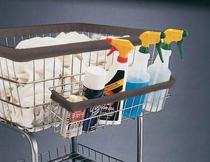 Accessory Basket for Car Wash Towel Cart & Utility Carts-Norton Supply
