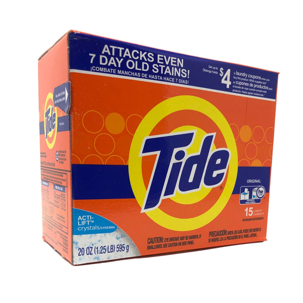 Tide Powder Laundry Detergent Original Scent 20 Oz-Norton Supply