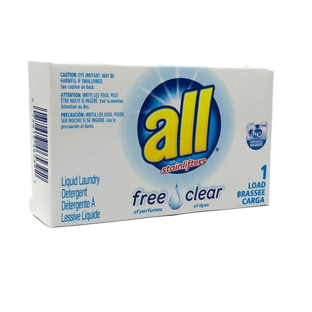 All Free Clear HE Liquid Detergent-Coin Vend-Norton Supply