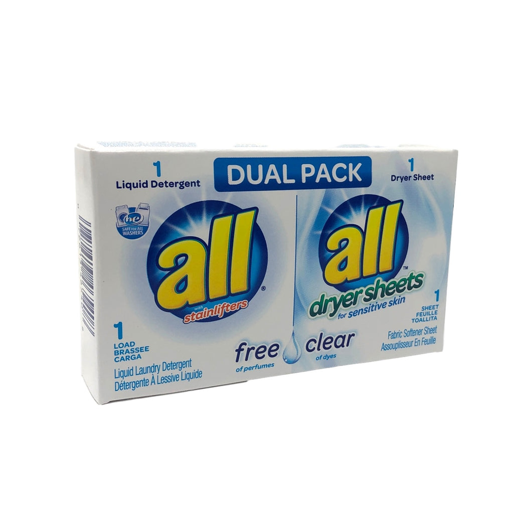 All Free Clear Dual Pack-Coin Vend-Norton Supply