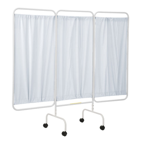 Mobile Three Panel Privacy Screen-Norton Supply