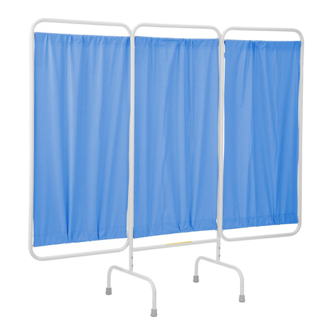 Stationary Three Panel Privacy Screen-Norton Supply