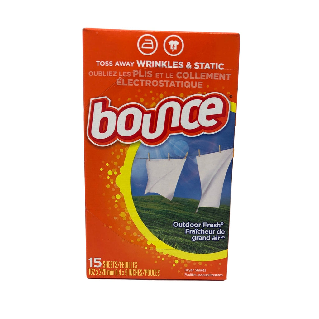 Bounce Dryer Sheets 15/15 Count-Norton Supply