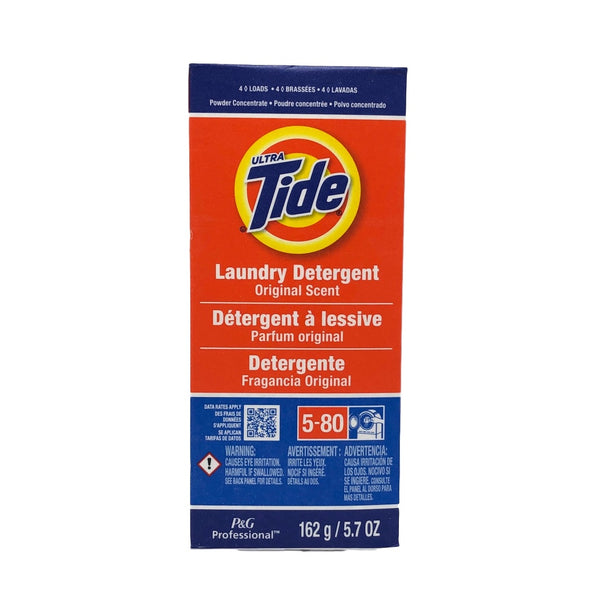 Tide 4 Load Concentrate Laundry Detergent Powder , 5.7 Ounce - 14 per case.-Norton Supply