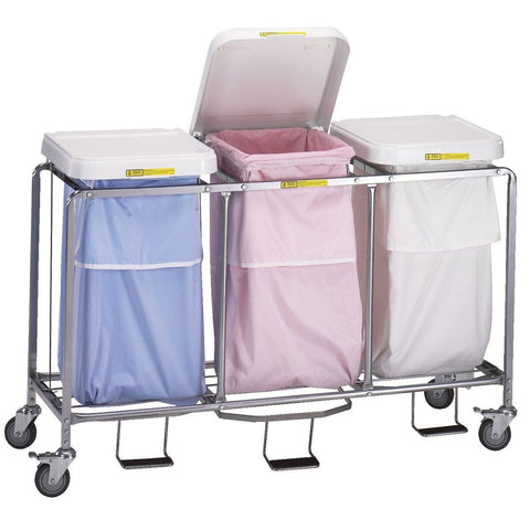 Triple Leakproof Hamper Stand-Norton Supply