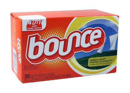 Bounce Fabric Softener Sheets, 160 Sheets/Box, 6 Boxes/Carton-Norton Supply