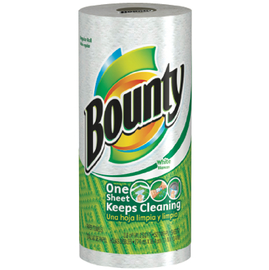 Bounty Paper Towels, 8/83ct-Norton Supply