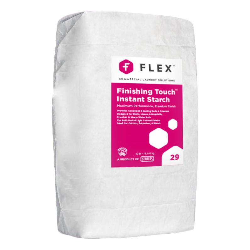 Flex Finishing Touch Dry Instant Starch 40lb-Norton Supply