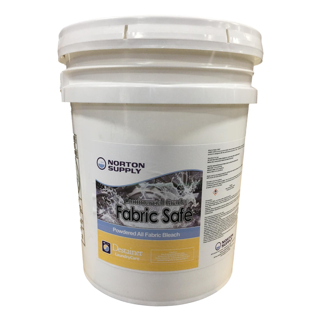 Fabric Safe Bleach, 50 lb.-Norton Supply
