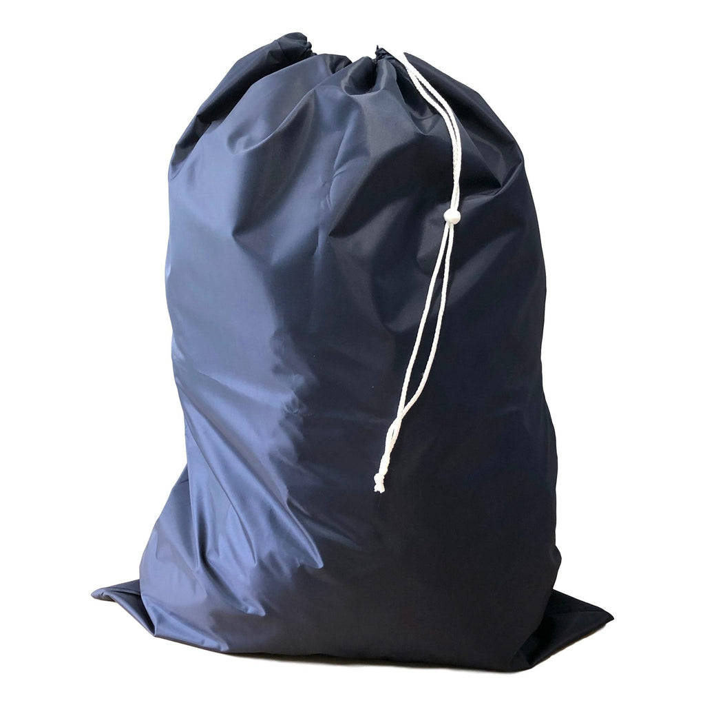 Nylon Laundry Bags - Navy Blue - 10 Pack-Norton Supply
