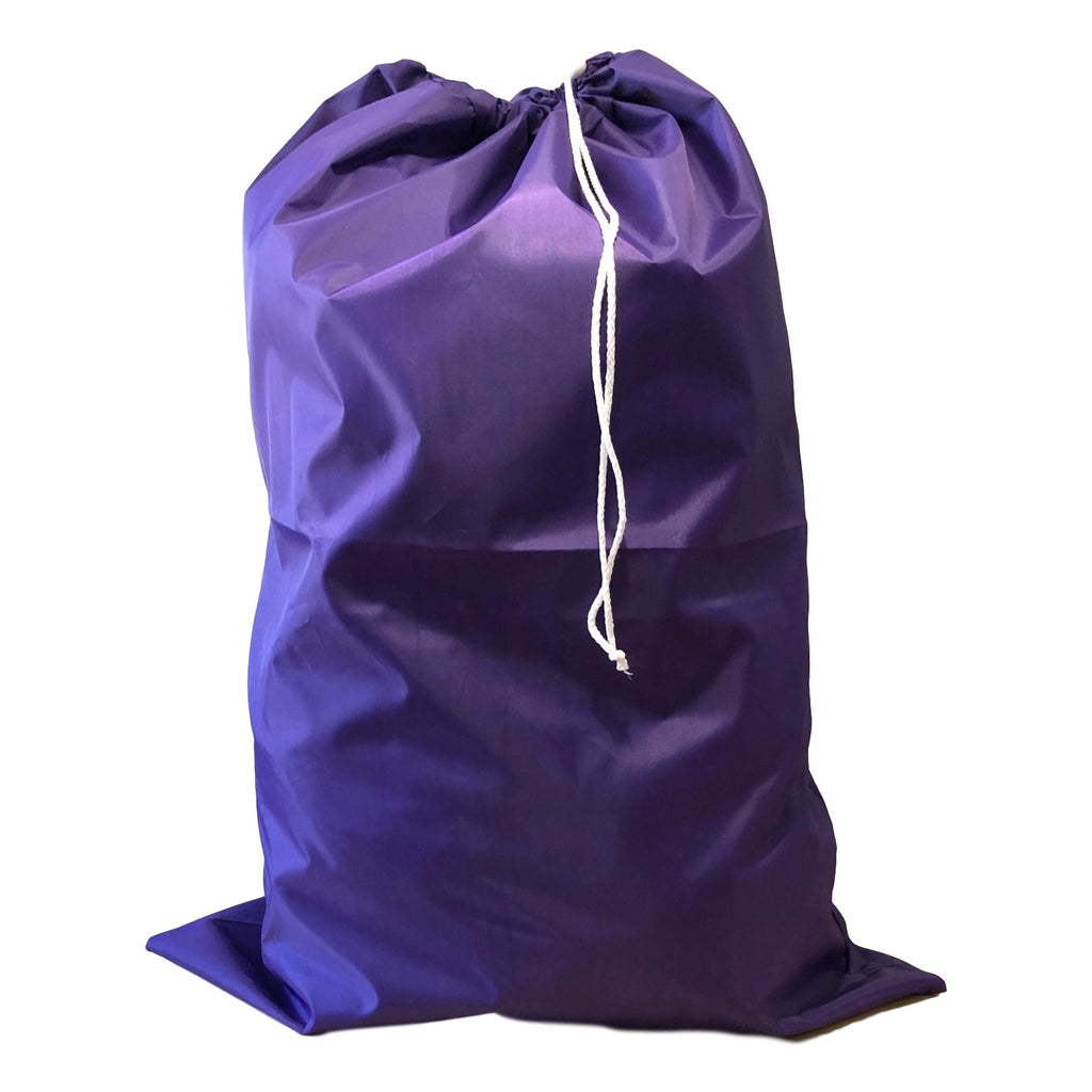 Nylon Laundry Bags - Purple - 10 Pack-Norton Supply