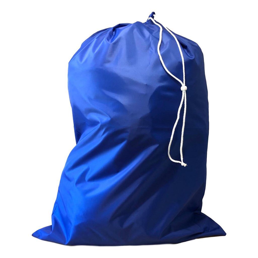 Nylon Laundry Bags - Royal Blue - 10 Pack-Norton Supply