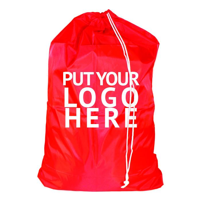 Nylon Laundry Bags Custom Printed 30x40-Norton Supply