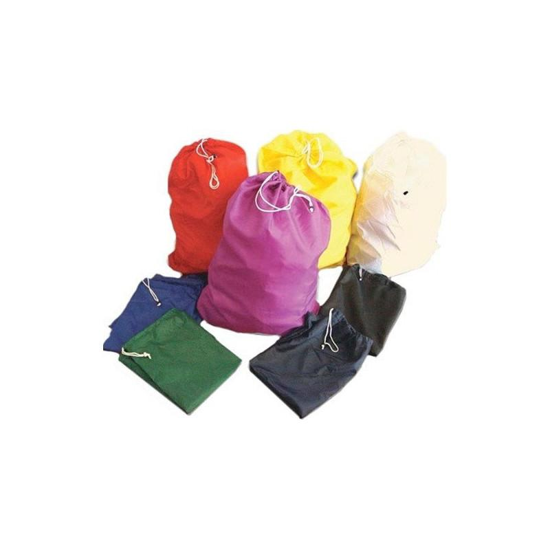 Nylon Laundry Bags - Pack Of 10 Assorted Colors-Norton Supply