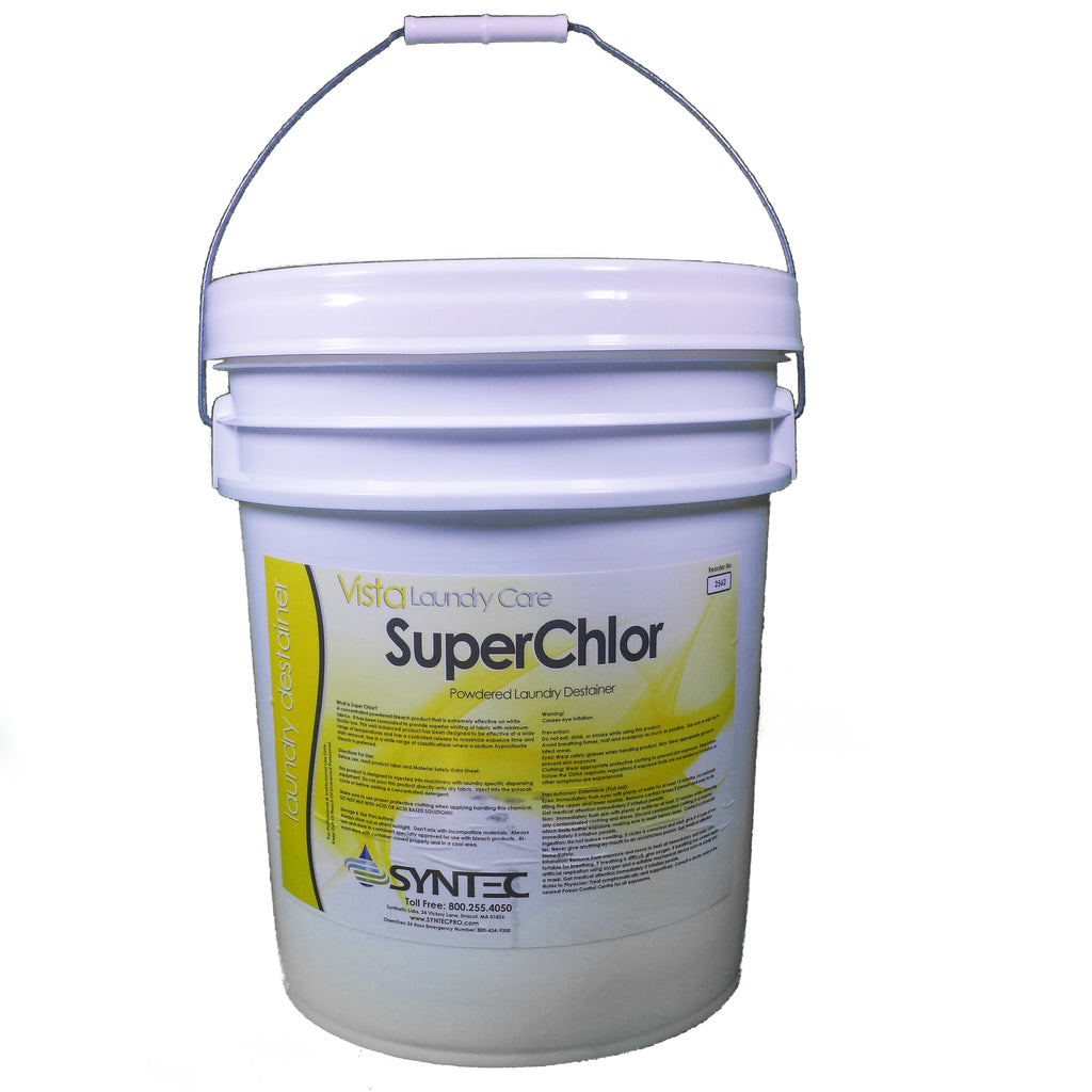 Super Chlorine Destainer, 50 Lb.-Norton Supply