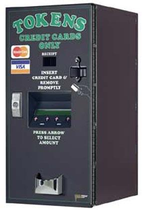 American Front Load-CredIt Card Token Dispenser-Norton Supply