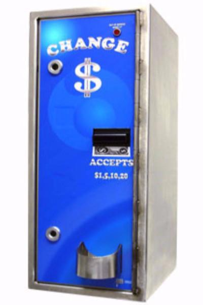 American Front Load Bill Changer-Stainless Steel-High Security-Norton Supply
